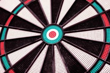 dartboard closeup