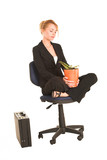 businesswoman #263 poster