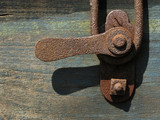 rusted latch poster