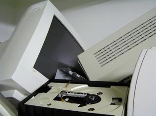 computer graveyard