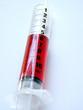 syringe detail