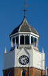 fine clock and bell tower in burnham, england