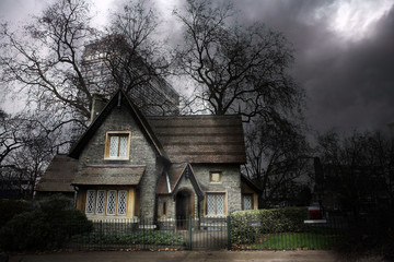haunted house #1
