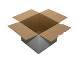 empty cardboard box poster