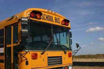 schol bus front