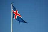 icelandic flag poster