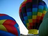 hot air balloons 3 poster