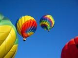 hot air balloons 8 poster