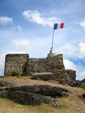 st. martin french fort poster