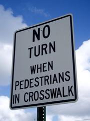 señalamiento para conductores y peatones