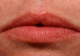 macro lips poster