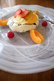 dessert is served poster