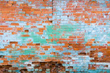 distressed brick wall 1