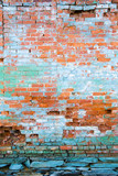 distressed brick wall 6