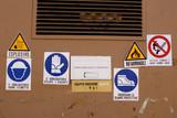 multiple warnings poster