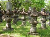 japanese graveyard poster