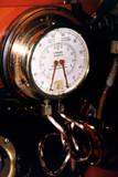 vintage pressure gauge poster