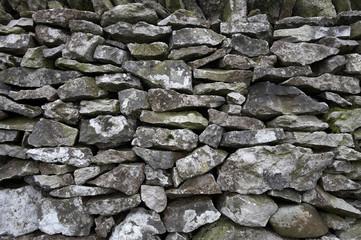 drystone wall detail