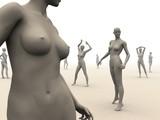 mannequin arrangement poster