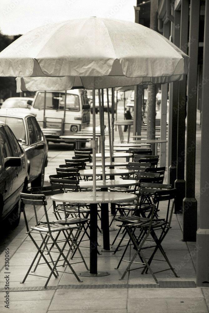 kawiarnia stół krzesło - powiększenie