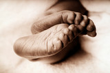 babies feet poster