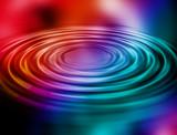 rainbow ripple poster
