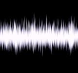 radio wave poster