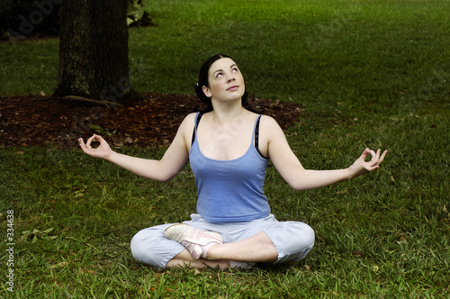 people - young adult - yoga