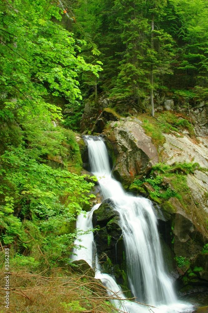 topnik wodospad natura - powiększenie
