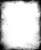 grunge border poster