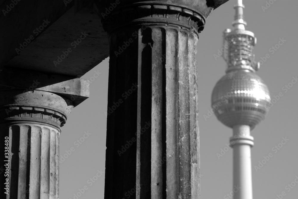 atrakcyjność turystyczna filar wieża - powiększenie