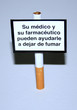 panneau dejar de fumar