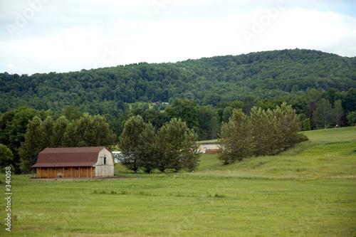 poster of rustic barn