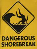 dangerous shorebreak poster