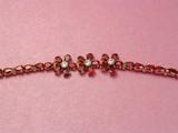 bracelet with garnets poster