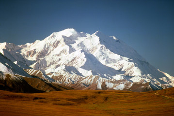 mt mckinley (denali) in the fall