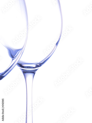 wine-glasses silhouettes