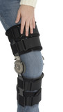 after surgery knee brace poster