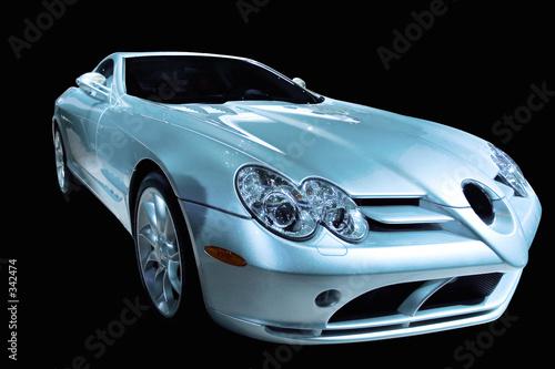 futurystyczny luksusowy samochód