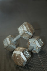 dumbbells open
