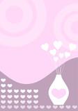 retro valentines poster