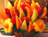 colorul fruit basket poster