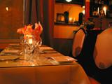 dinner table setting 1 poster