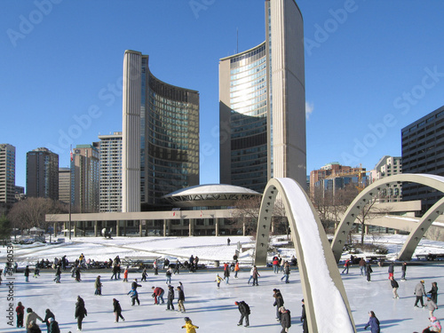Papiers peints Toronto toronto city hall
