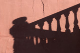 balcony shadow poster