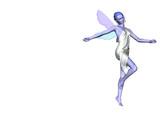 blue fairy ten poster