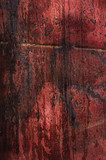 red grungy texture poster