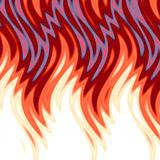 hot flames background poster