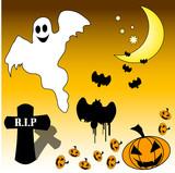 halloween design aids poster