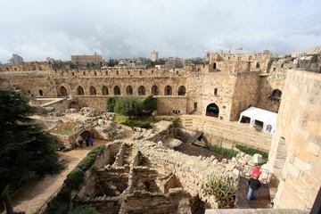 jerusalem citadel courtyard